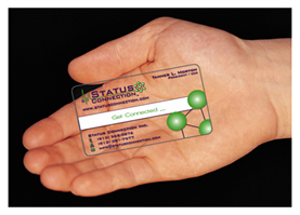 Frosted Card Printed Plastic ID Card Manufacturer