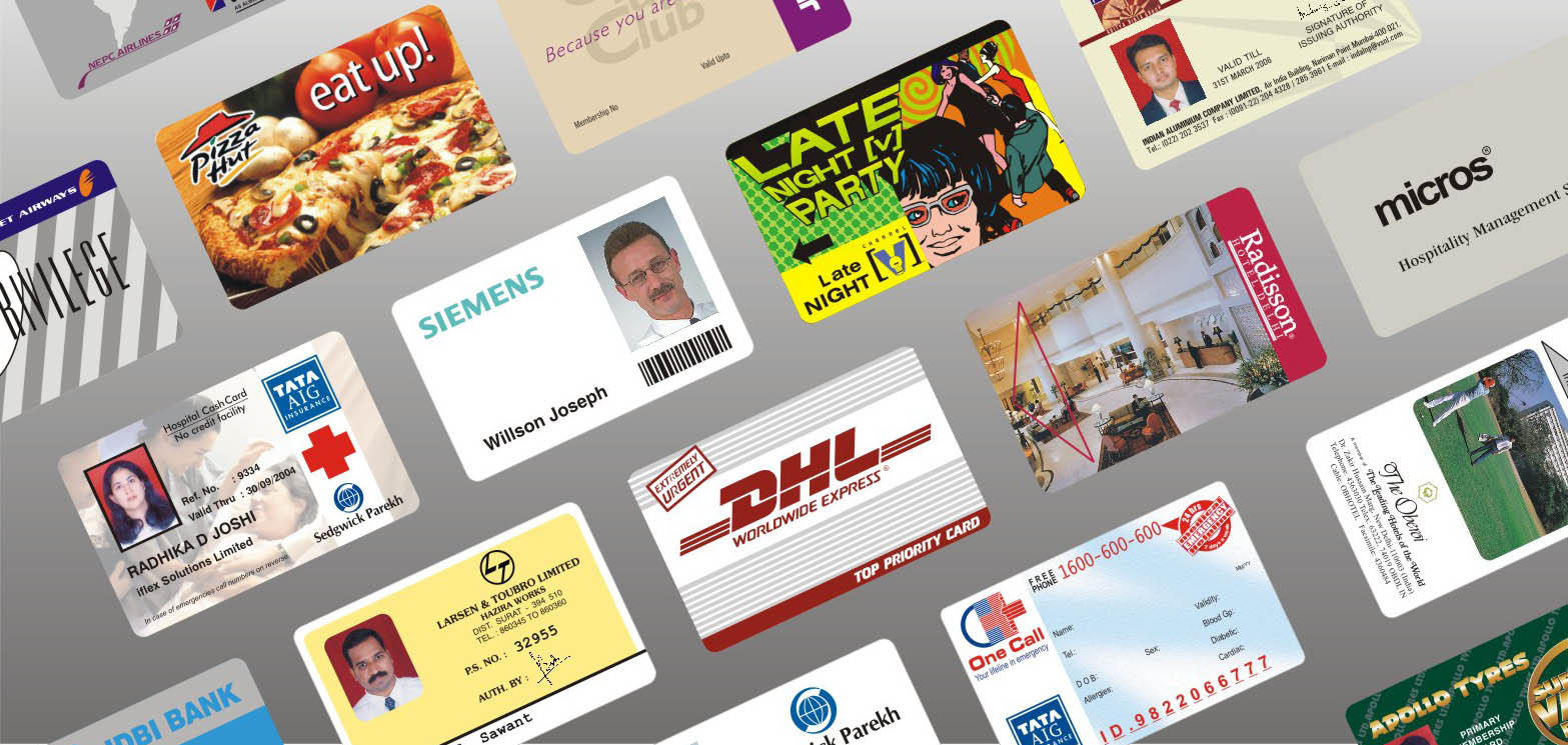Printed plastic identity id card manufacturer supplier india plastic cards manufacturer india reheart Choice Image